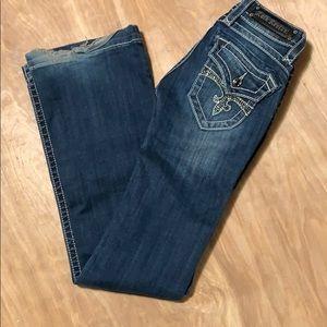 Rock Revival SZ 25 Scarlett jeans, dark wash.